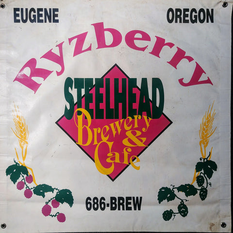 Steelhead Brewery & Cafe OBF Vintage Tent Banner