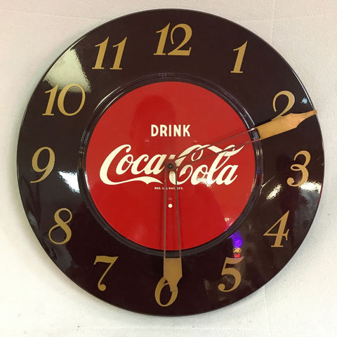 Coca Cola electric clock