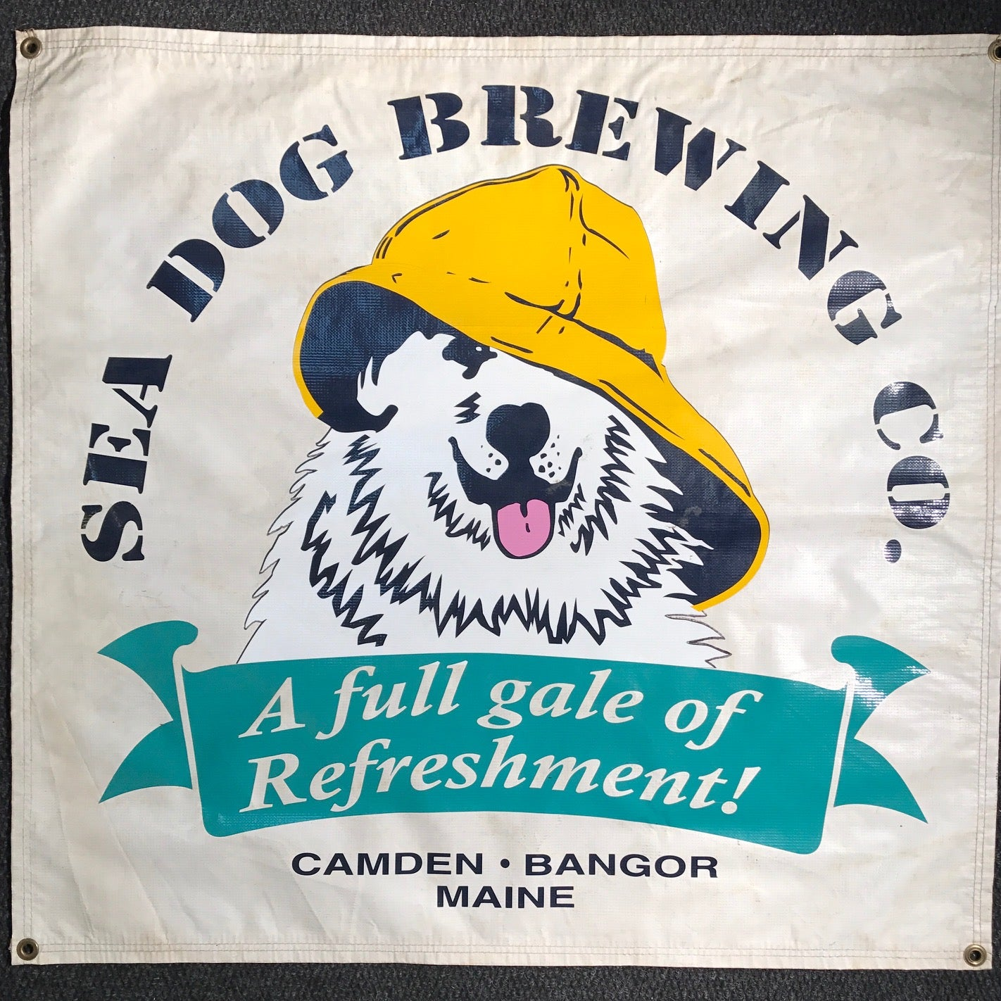 Sea Dog Brewing OBF Vintage Tent Banner