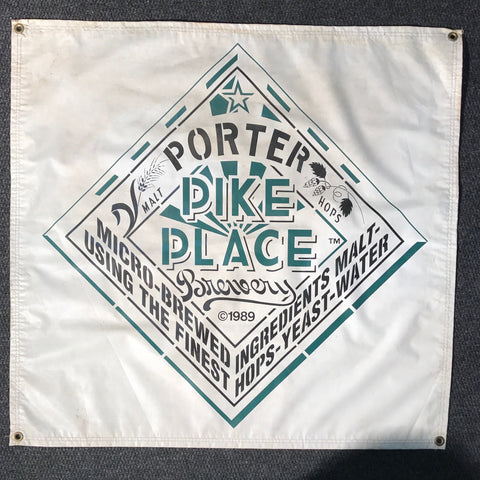 Pike Place Porter OBF Vintage Tent Banner