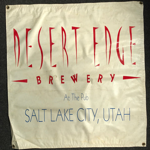 Desert Edge Brewery OBF Vintage Tent Banner