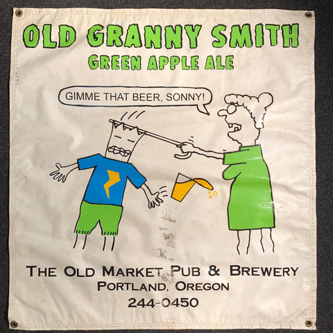 Old Granny Smith OBF Vintage Tent Banner