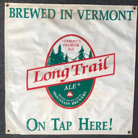 Long Trail Ale OBF Vintage Tent Banner
