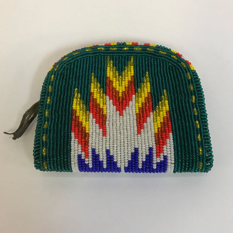 Umatiilla Indian Beaded coin purse