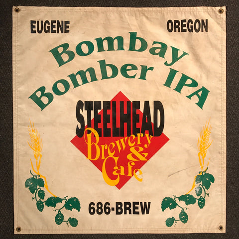 Bombay Bomber IPA OBF Vintage Tent Banner
