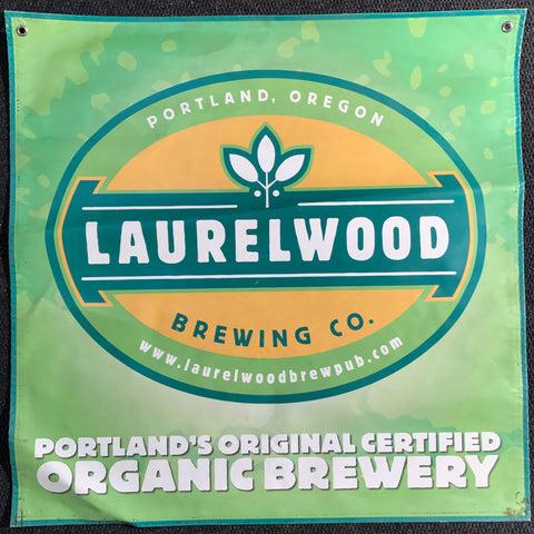 Laurelwood Brewing Co. OBF Vintage Tent Banner