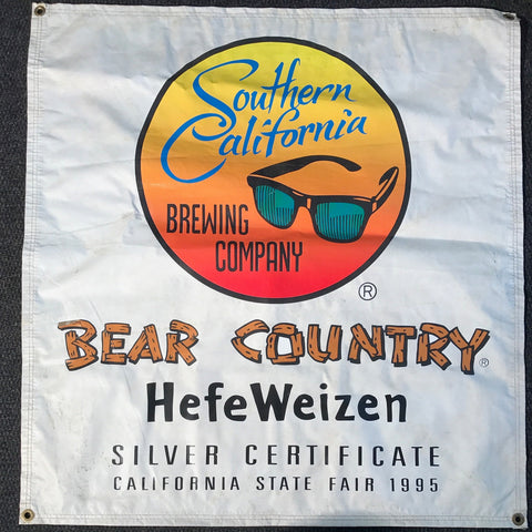 Southern California Bear Country Hefeweizen OBF Tent Banner
