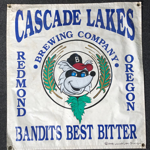 Cascade Lakes Brewing Company OBF Vintage Tent Banner