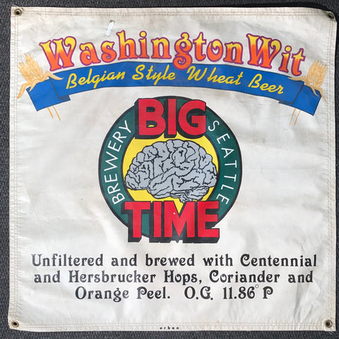 Washington Wit OBF Vintage Tent Banner