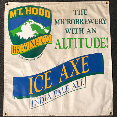 Mt. Hood Brewing Co OBF Vintage Tent Banner