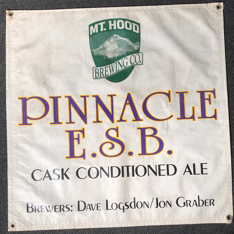 Pinnacle E.S.B. OBF Vintage Tent Banner