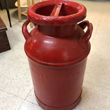 Antique Metal Milk Can