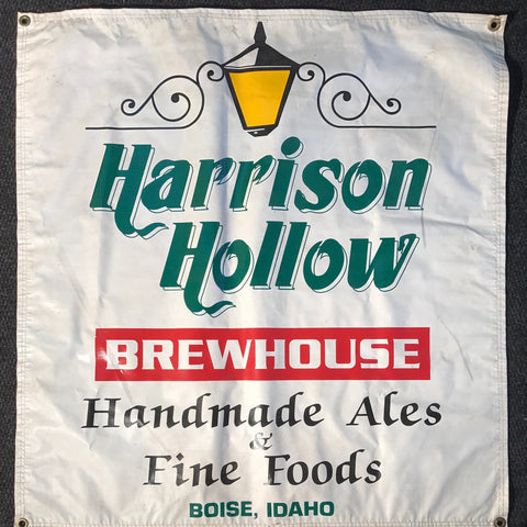 Harrison Hollow Brewhouse OBF Tent Banner