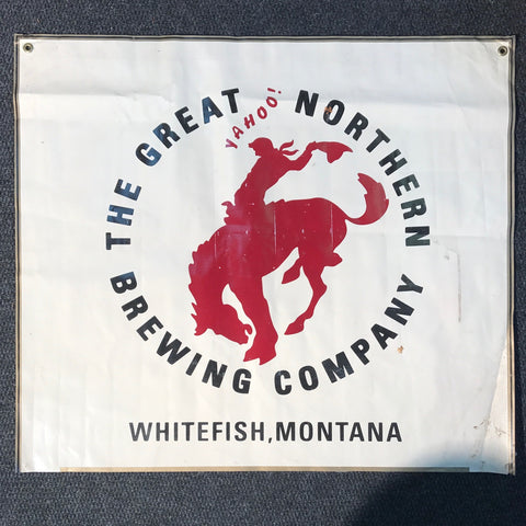 The Great Northern Brewing Company OBF Tent Banner