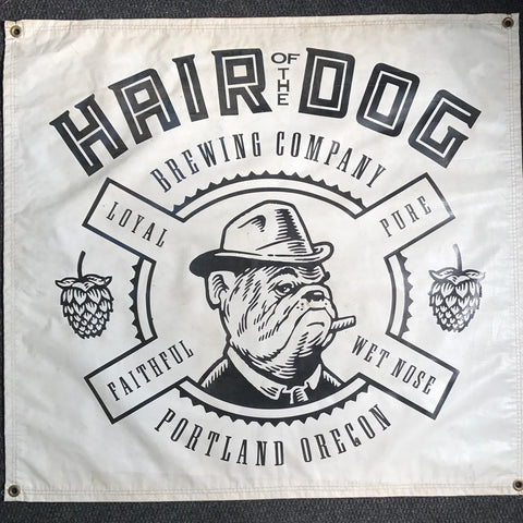 Hair of the Dog OBF Vintage Tent Banner