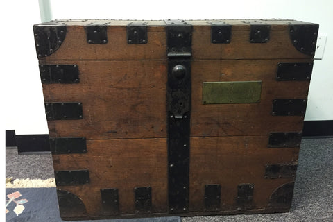 Antique Travel Chest