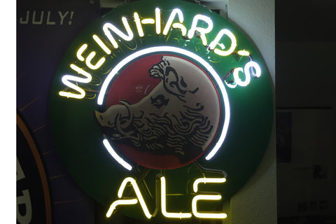 Weinhards Ale Neon Sign