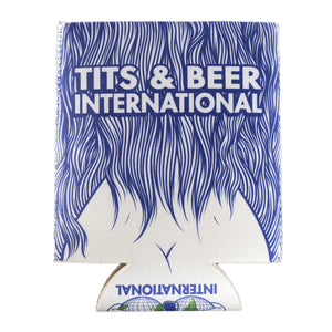 Tits and Beer International 3D Koozie