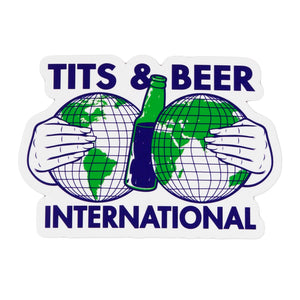 Tits and Beer International Sticker 2