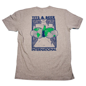 Tits and Beer International Tee