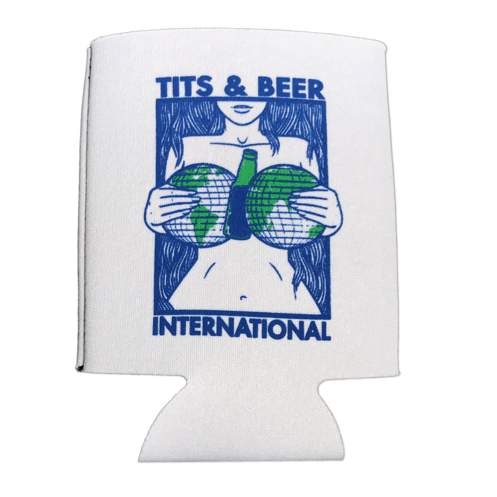 Tits and Beer International Koozie