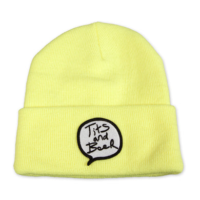 Word Bubble Beanie