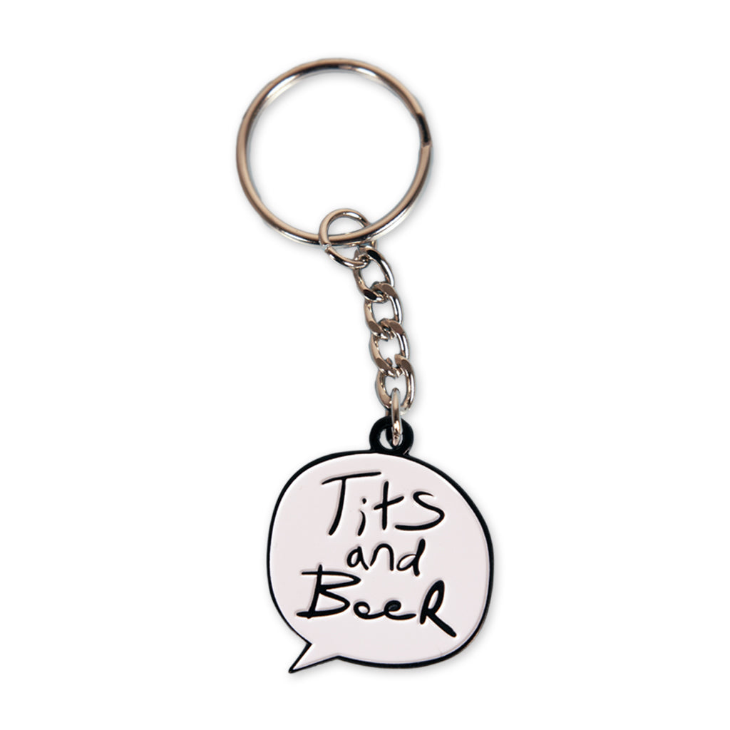 Word Bubble Key Chain