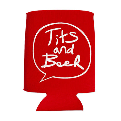 Word Bubble Koozie