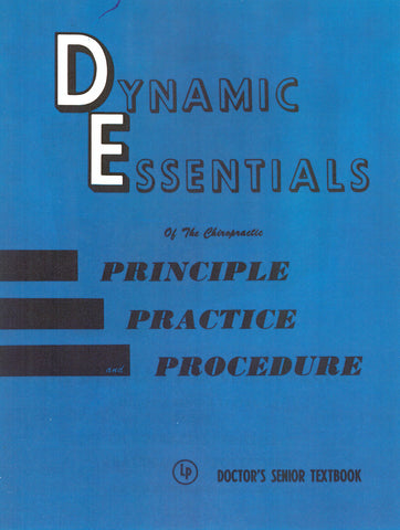 The DE Procedures Manual - Vintage Edition (Blue)