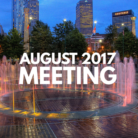 August 2017 Dynamic Essentials Meeting