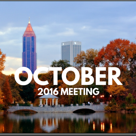 October 2016 Dynamic Essentials Meeting