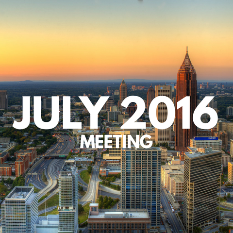 July 2016 Dynamic Essentials Meeting