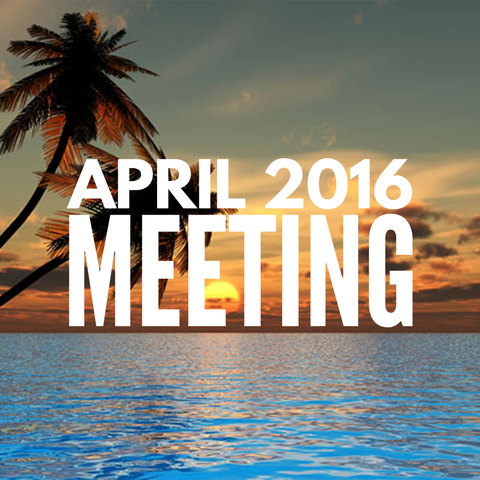 April 2016 Dynamic Essentials Meeting