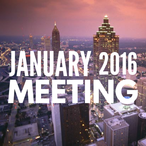 January 2016 Dynamic Essentials Meeting
