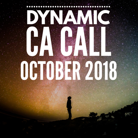 Dynamic CA Call - October 2018