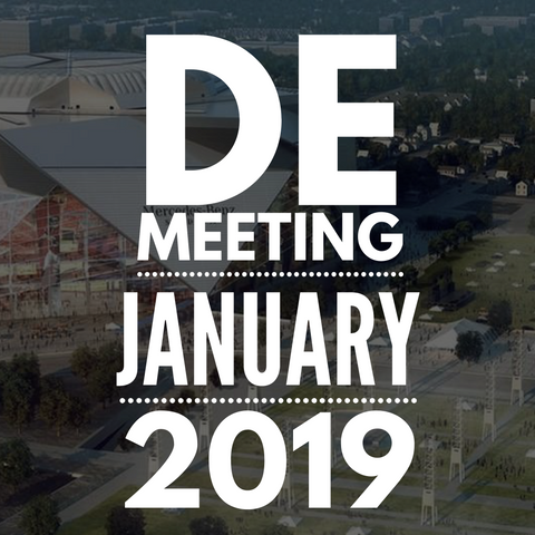 2019 January DE Meeting