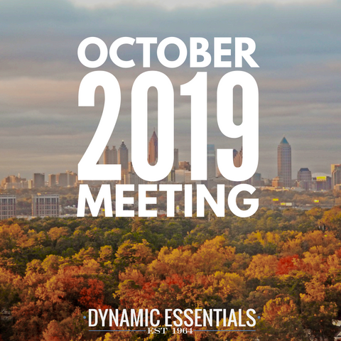 October 2019 Meeting