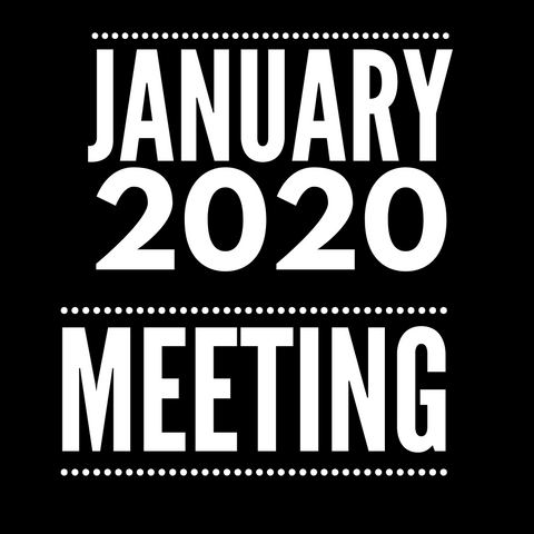January 2020 DE Meeting