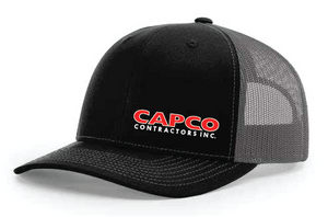 Capco Mesh Snap Back - Black / Charcoal