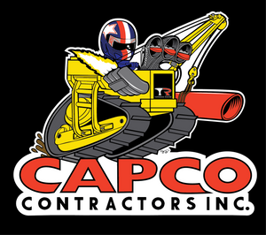 Capco Boom Sticker - 6""