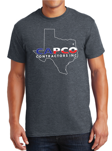 Capco Texas Outline T-shirt - Grey