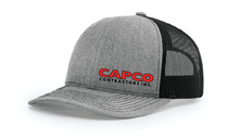 Capco Mesh Snap Back - Heather Grey / Black