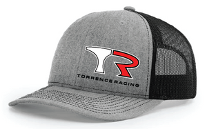 TR Mesh Snap Back - Heather Grey / Black