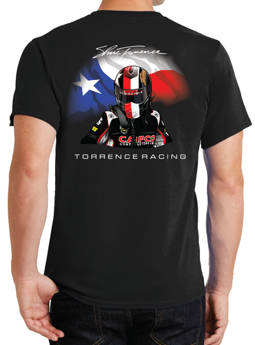 Texas Helmet T-Shirt - Black