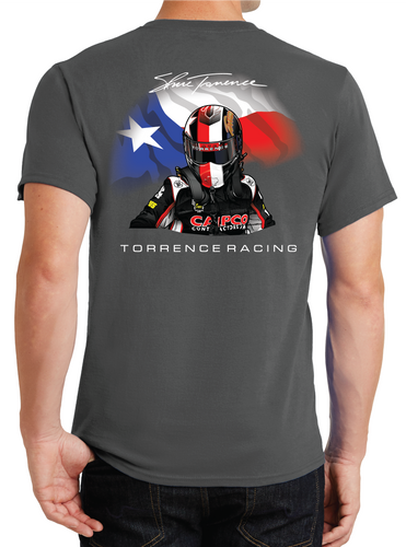 Texas Helmet T-Shirt - Grey