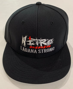 Lagana Strong - Flex Fit Hat - Black