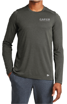 Capco 2X World Champions Men's Long Sleeve New Era Performance