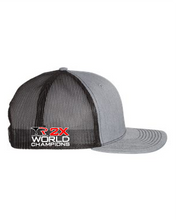 Capco Mesh Snap Back 2X World Champions - Heather Grey / Black