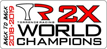 Back to Back World Champions Sticker