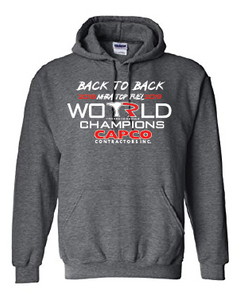2019 back to back World Champions Hoodie